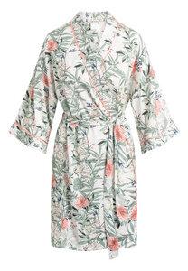 """Mittellanger Kimono """"Jean Kimono Chalk"""" chalk AOP - CCDK"""