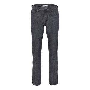 Mens Slim Straight Jeans Black Light One Wash - goodsociety