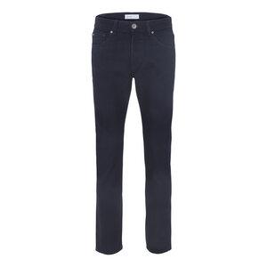 Mens Slim Straight Jeans Dark Blue One Wash - goodsociety