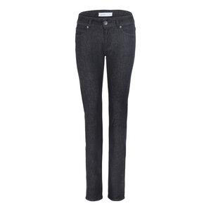 Womens Slim Jeans Black Light One Wash - goodsociety