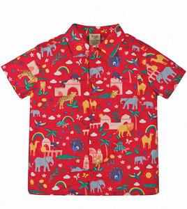 Buntes Hawaii Shirt aus Biobaumwolle - Frugi