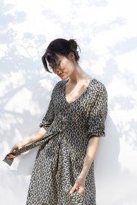 Kleid Kalina aus fließender Viskose - ME&MAY