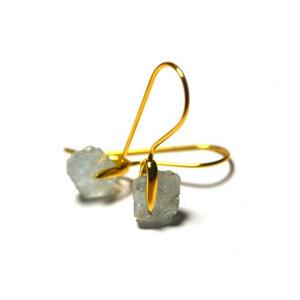 Ohrhänger Colibrí | recyceltes 925er Silber mit 24K Goldbeschichtung - Alma Amazona