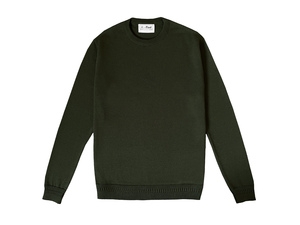Evergreen Wool Jumper - 100% Bio Merinowolle - Le Pirol
