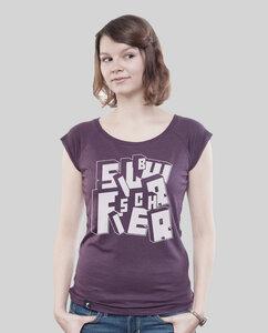 """Bamboo Raglan Shirt Women """"BOTB"""" - SILBERFISCHER"""