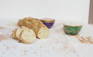 Backmischung Baguette naturelle - 3 Stück - Dankebitte