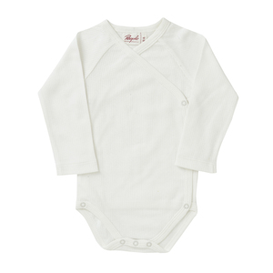 Baby LA Wickelbody weiß Bio People Wear Organic - People Wear Organic