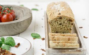 Brot 'Caprese ohne Käse' - Dankebitte