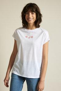 "Charityshirt ""Mosaik"" aus Bio-Baumwolle GOTS - LANIUS"