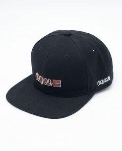 Unisex Snapback aus Bio-Baumwolle - Cap Logo - schwarz - Degree Clothing