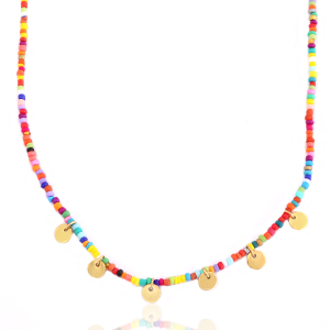 Bunte Perlenkette - ELEKTROPULLI