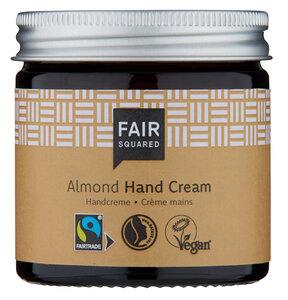 Fair Squared Handcreme Mandel 50 ml - Handpflege für empfindliche Haut - Fair Squared