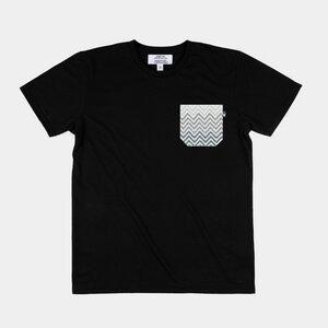 Unisex Shirt Mosaico mit handgestickter Brusttasche aus Mexiko - Someone Somewhere