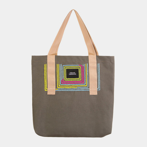 Tote Bag mit handgesticktem Ornament - Made in Mexico - Someone Somewhere