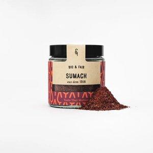 Bio Sumach 55g im Glas - SoulSpice