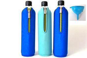 Trinkflaschen Set Dreierlei mit Trichter - Dora´s