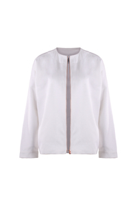 Blouson LIE white - JAN N JUNE