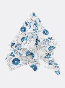 Kleines Tuch aus Bio-Baumwolle - Bandana Blockdruck - Djian Collection