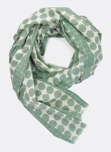 Schal aus Bio-Baumwolle – Grafisches Muster 3184 - Djian Collection