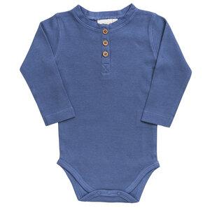 Baby LA Body blau Bio People Wear Organic - People Wear Organic