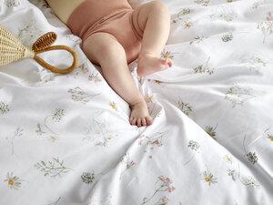 Kinderbettwäsche Baumwollsatin Meadow - Yumeko