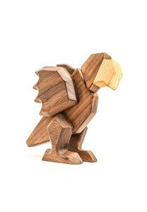 "Holzfigur ""Kleiner Papagei"" - FableWood"