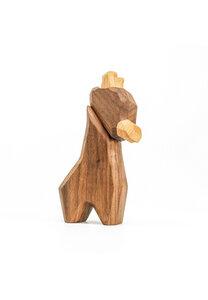 "Holzfigur ""Kleine Giraffe"" - FableWood"