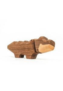 "Holzfigur ""Little Crocodile"" - FableWood"
