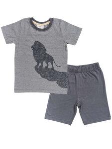 Kinder Sommer Pyjama/Shorty reine Bio-Baumwolle - People Wear Organic