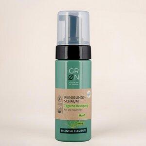 Biokosmetik Reinigungsschaum Tägliche Reinigung - alle Hauttypen - GRN [GRÜN]