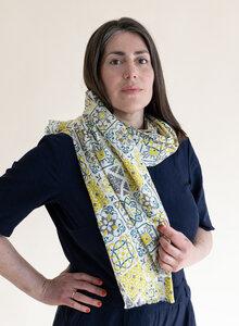 Schal aus Bio-Baumwolle – Lissabon 3235 - Djian Collection
