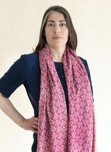 Schal aus Bio-Baumwolle – Lotus 3233 - Djian Collection