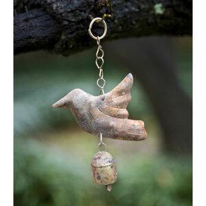 Kleine Glocke mit Vogel - Frida Feeling