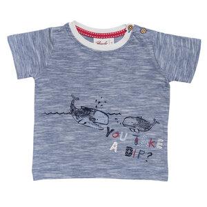 Baby T-Shirt blau biologisch People Wear Organic - People Wear Organic