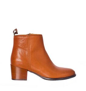 Damen Ankle Boot JONNA, Cognac - Ten Points