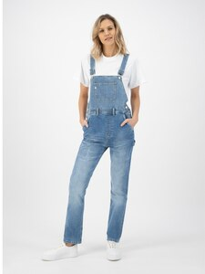 Jenn Dungaree Old Stone - Mud Jeans