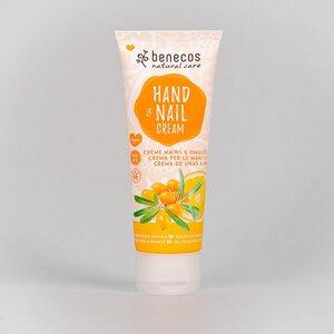 Naturkosmetik - Hand- und Nagelcreme - Sanddorn&Orange - vegan - 75 ml - benecos