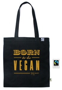 Tasche Born to be Vegan - Gary Mash