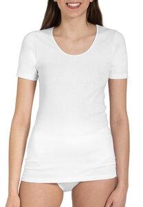 Damen Shirt 1/2 Arm Feinripp 5er Pack - Haasis Bodywear