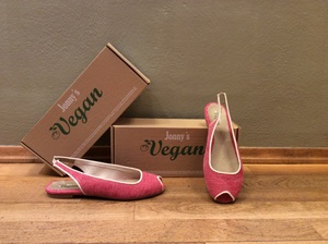 Peeptoe Ballerina - Jonny's Vegan