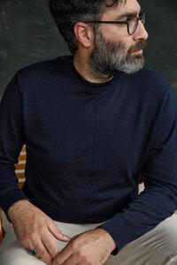 Klassischer Strickpullover MILO aus Bio-Baumwolle - About Companions