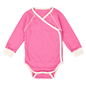 Nipp Wrap Sleeve Body pink - Nipparel kids clothing