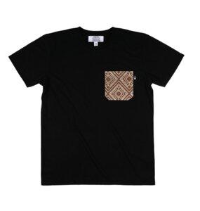Unisex Shirt Trigo mit handgestickter Brusttasche aus Mexiko - Someone Somewhere