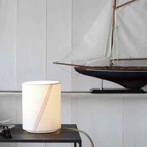 Tischleuchte Traditionsschiff N°1 aus Segel - lumbono