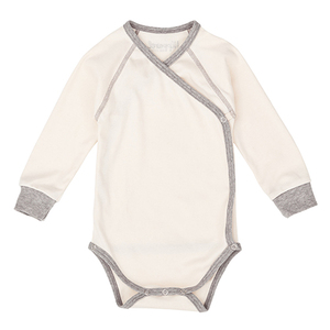 Nipp Wrap Sleeve Body natur - Nipparel kids clothing