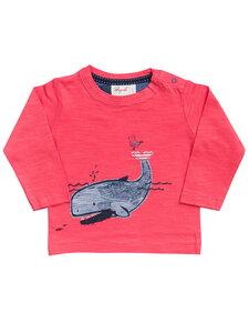 Baby und Kinder Langarm-Shirt Wal reine Bio-Baumwolle - People Wear Organic