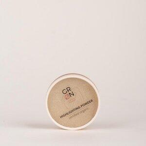 Biokosmetik Highlighting Powder golden amber - schimmernde Glimmerpigmente - GRN [GRÜN]