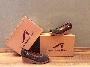 Peeptoe Wedges - Grand Step