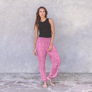 ANANDA PAISLEY - Damen - locker-leichte Sommerhose für Yoga und Freizeit - Jaya