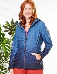 Outdoor-Jacke Lucetta mit Farbverlauf aus 100% recyceltem Polyester - Deerberg
